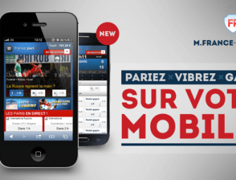 France-Pari : pari sportif sur mobile – parier avec son portable