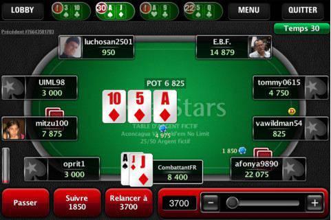 Quelles applis pour jouer au <b>poker</b> Texas Holdem <b>entre</b> <b>amis</b>