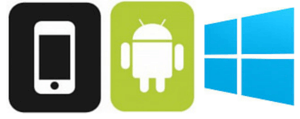 ioS - Android - Windows Phone
