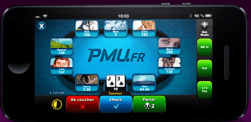 Appication PMU poker