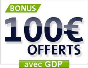 Bonus Parions Web 100 euros