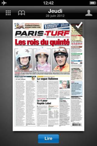 Application Paris-Turf