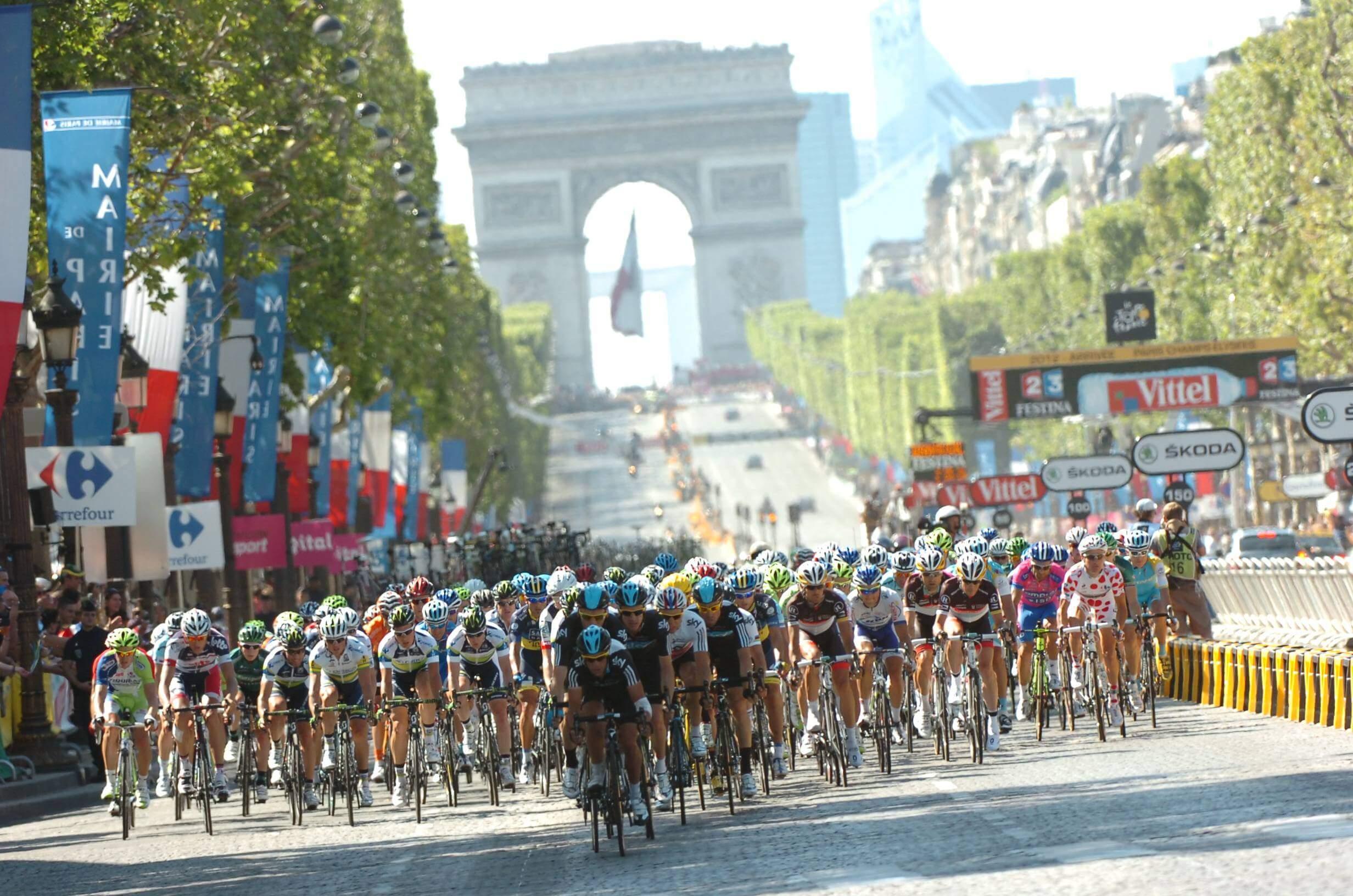 Tour de France Champs Elysées