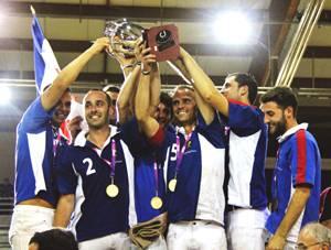 Champions d'Europe de horse ball