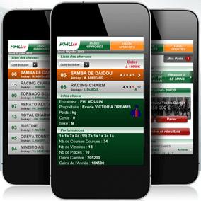 PMU sur mobile