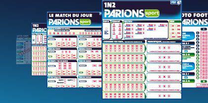 Guide guide du pari - Grille parions sport pronostics ...
