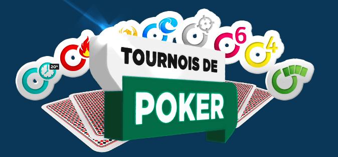 Nouveaux tournois betclic poker