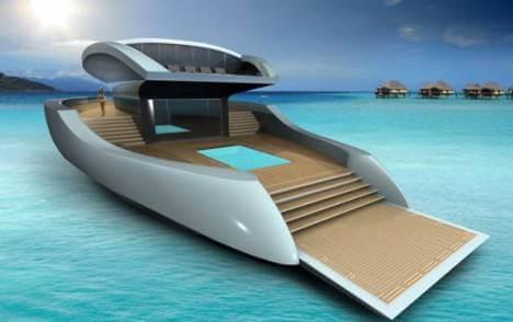 Yacht de gagnant