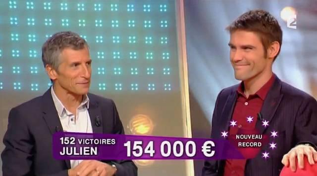 record gain jeu France 2