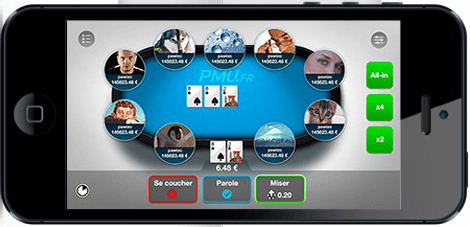 Application PMU Poker