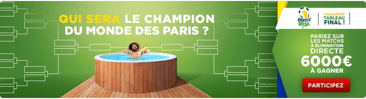 cagnotte betclic defi champion du monde des paris