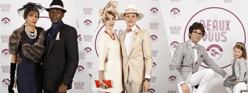 Beaux duos du Qatar Prix de l'Arc de Triomphe