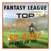 Fantasy League Top 14