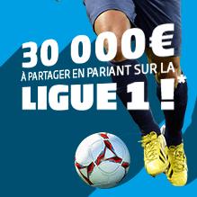 Promotion Ligue 1 sur PMU.fr
