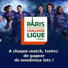 Paris Challenge Ligue : à chaque match, de nombreux lots à gagner
