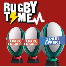 Rugby time PMU