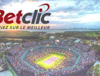 Betclic Live USA : 10% de vos paris remboursés pendant les Masters de Miami
