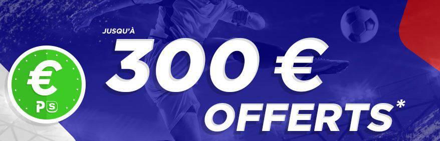 300€ offerts