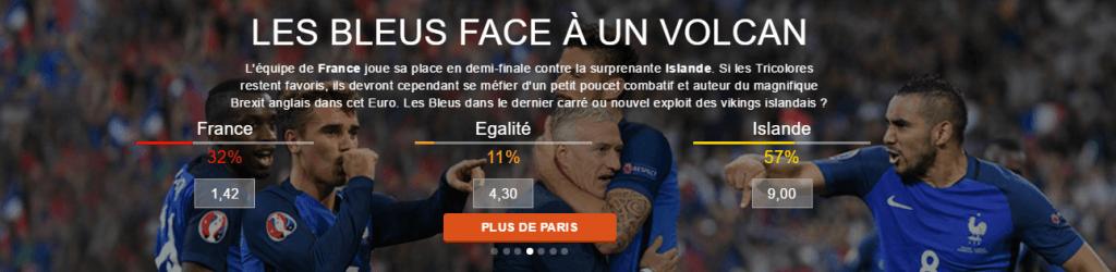 France - Islande : les Bleus face à un Volcan