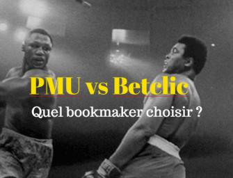 Betclic ou PMU : quel bookmaker choisir ?