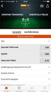 Paris en direct sur l'application PMU Sport