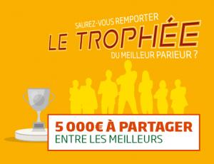 Saurez-vous emporter le trophée du meilleur parieur ?