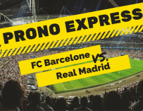 Prono Express : FC Barcelone vs Real Madrid