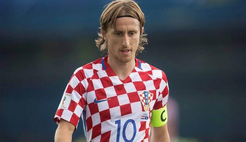 Modric Croatie Coupe du Monde