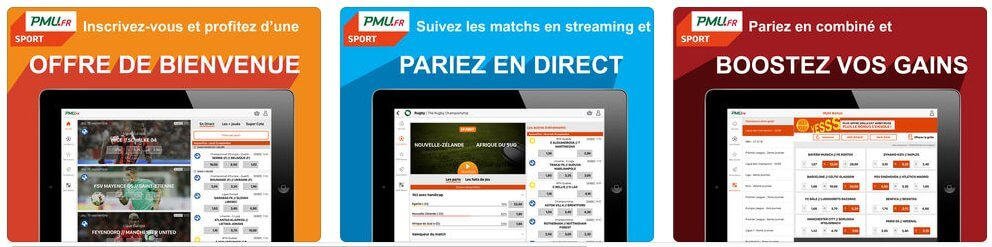 PMU Mobile sur iOS