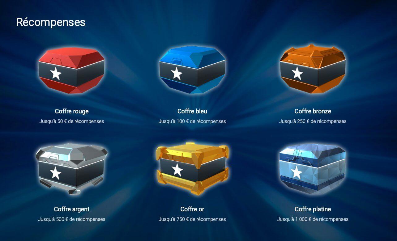 Stars Reward sur PokerStars