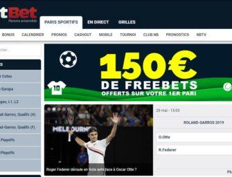 Bonus Netbet 2019 : 150€ offerts à l'inscription