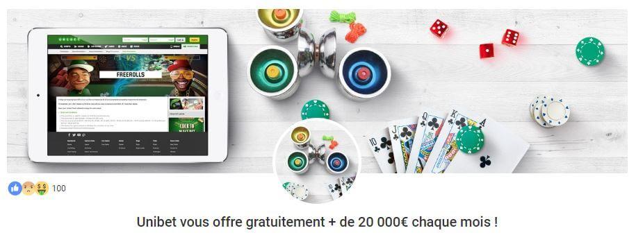 unibet poker gratuit