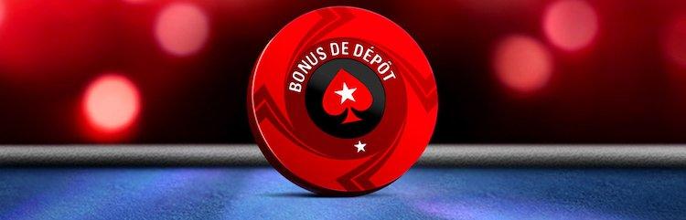 Offre de dépôt PokerStars