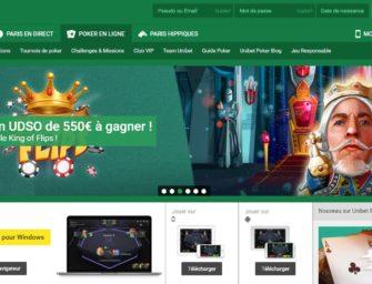 Unibet Poker : inscription, bonus, jeux disponibles