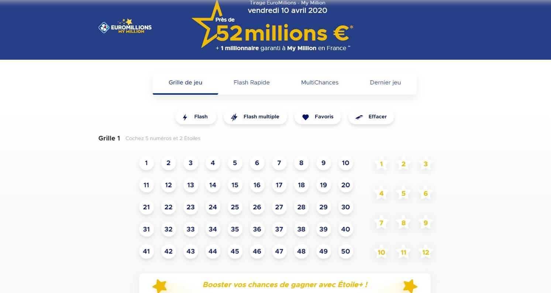 Jouer au Loto ou à l'Euromillions en Ligne