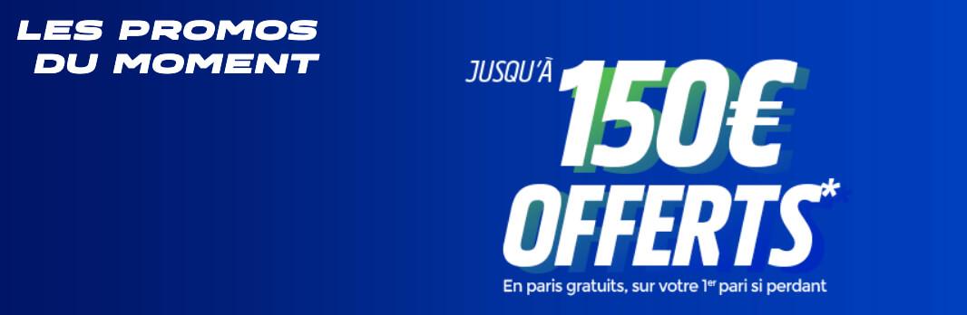 Offre ParionsSport de 150€ pour les nouveaux joueurs
