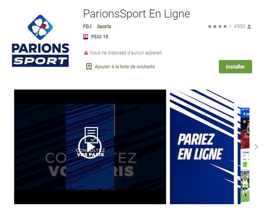 Parions Sport Foot