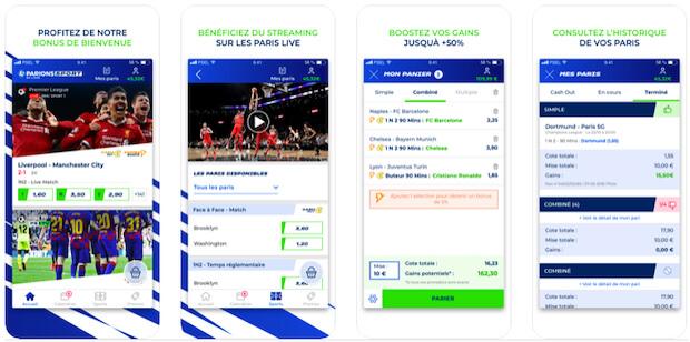 Application mobile Parions Sport
