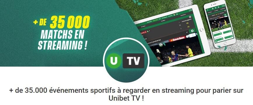 Streaming Unibet